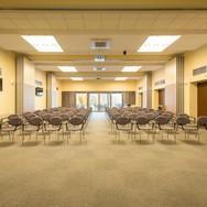 Prostory a rozměry sálů