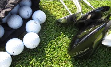 Seznámení s golfem, 2 osoby