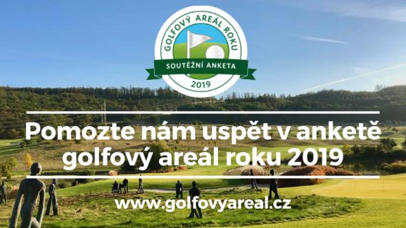 Anketa o golfový areál roku 2019