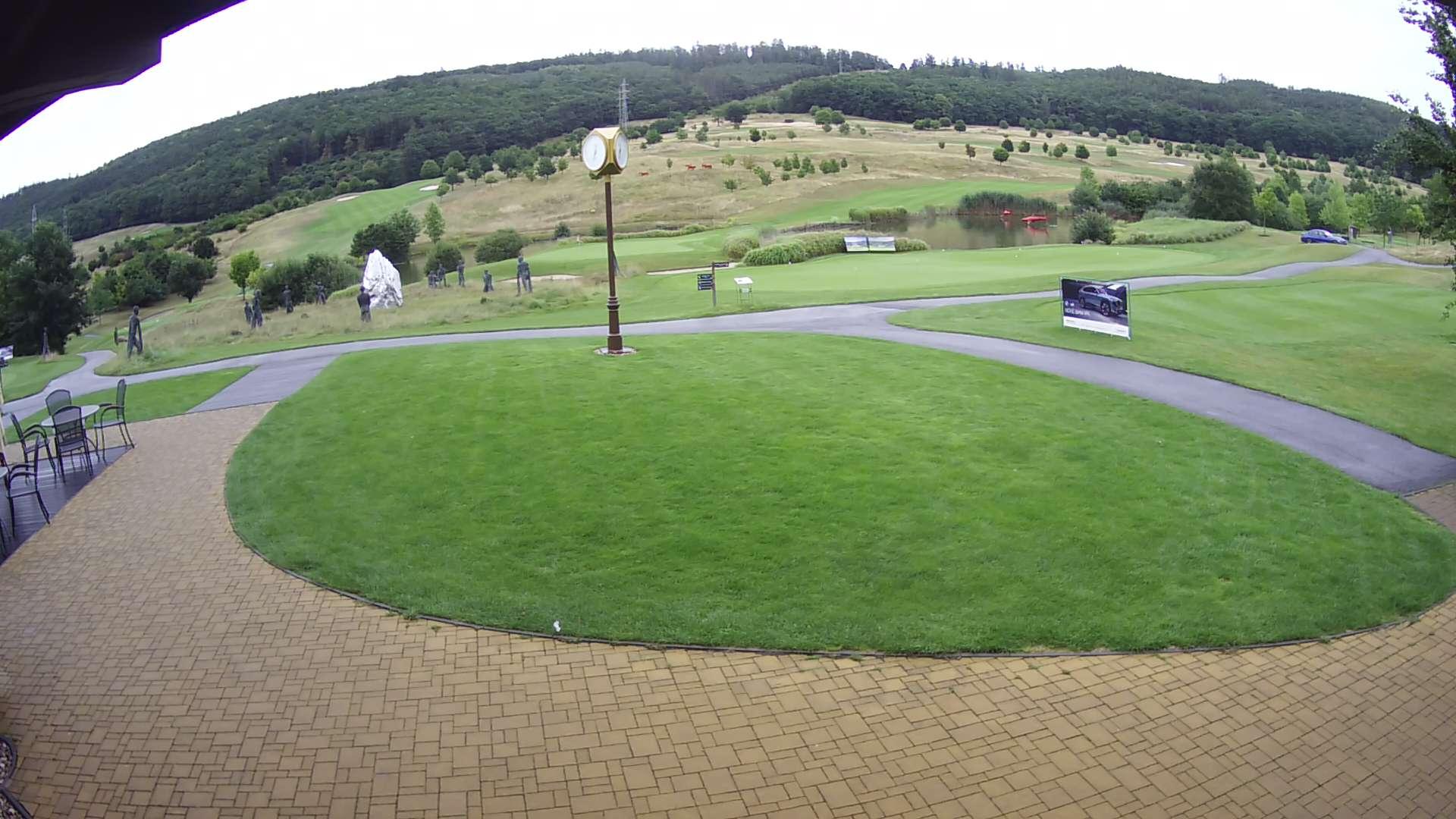 Pohled webkamery Golf Resort Brno